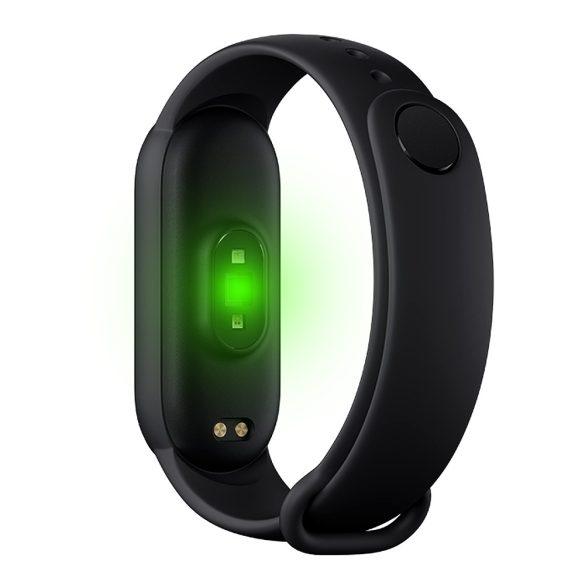 FitPro M5 Smart Band pulzus- és vérnyomásmérő okoskarkötő - Fekete