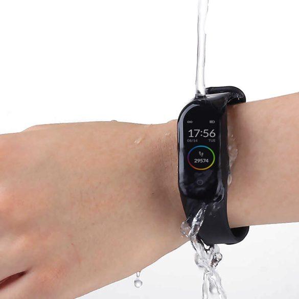 WearFit M4 Band pulzus-, vérnyomás- és véroxigénmérő multisport okoskarkötő - Fekete