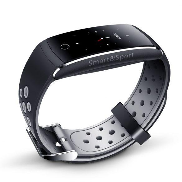 ProWear Band Q8 pulzus-, vérnyomás- és véroxigánmérő vízálló okoskarkötő - Szürke, Szürke