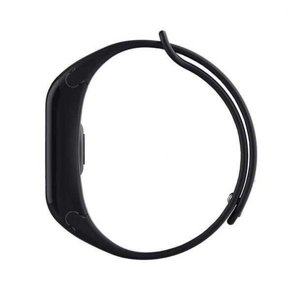 WearFit F1 Plus pulzus-, vérnyomás- és véroxigénmérő okoskarkötő - Fekete