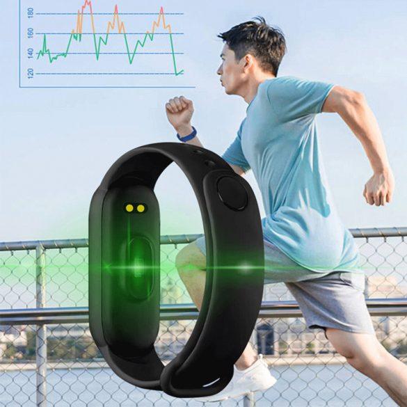 M6 Okoskarkötő, Okosóra, Fitnesz Tracker, Smartband