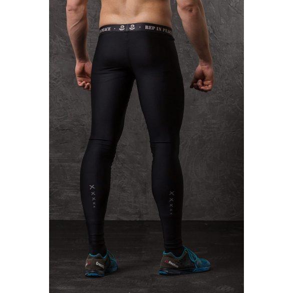 REP in PEACE leggings carbon nadrág